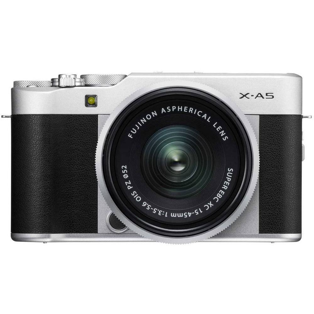 x-a5-silver-front-xc15-45mm