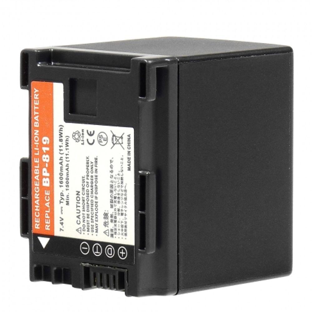 power3000-pl819b-725-acumulator-replace-tip-canon-bp-819--1600mah-36590