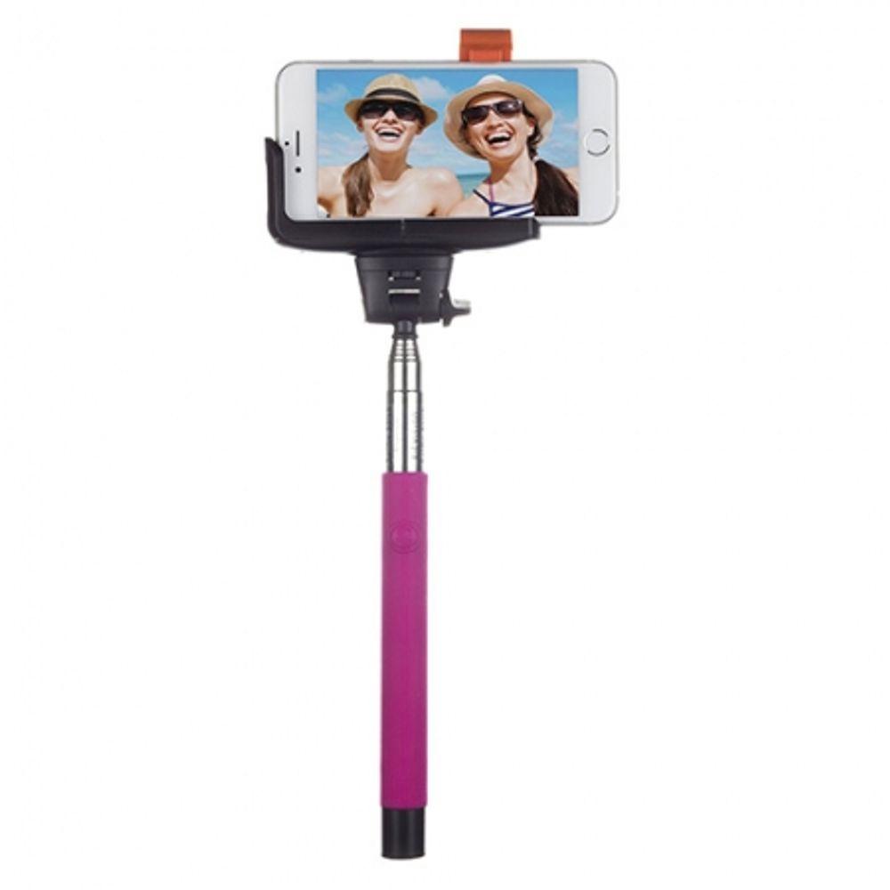 kitvision-trendz-glitter-selfie-stick-roz-40943-83