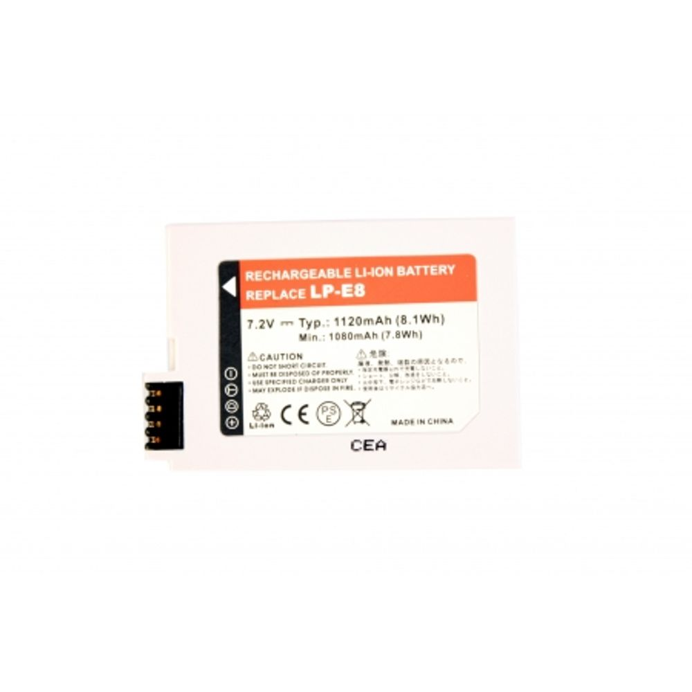power3000-pl813g-356-acumulator-replace-canon-lp-e8--1120mah-42369-573