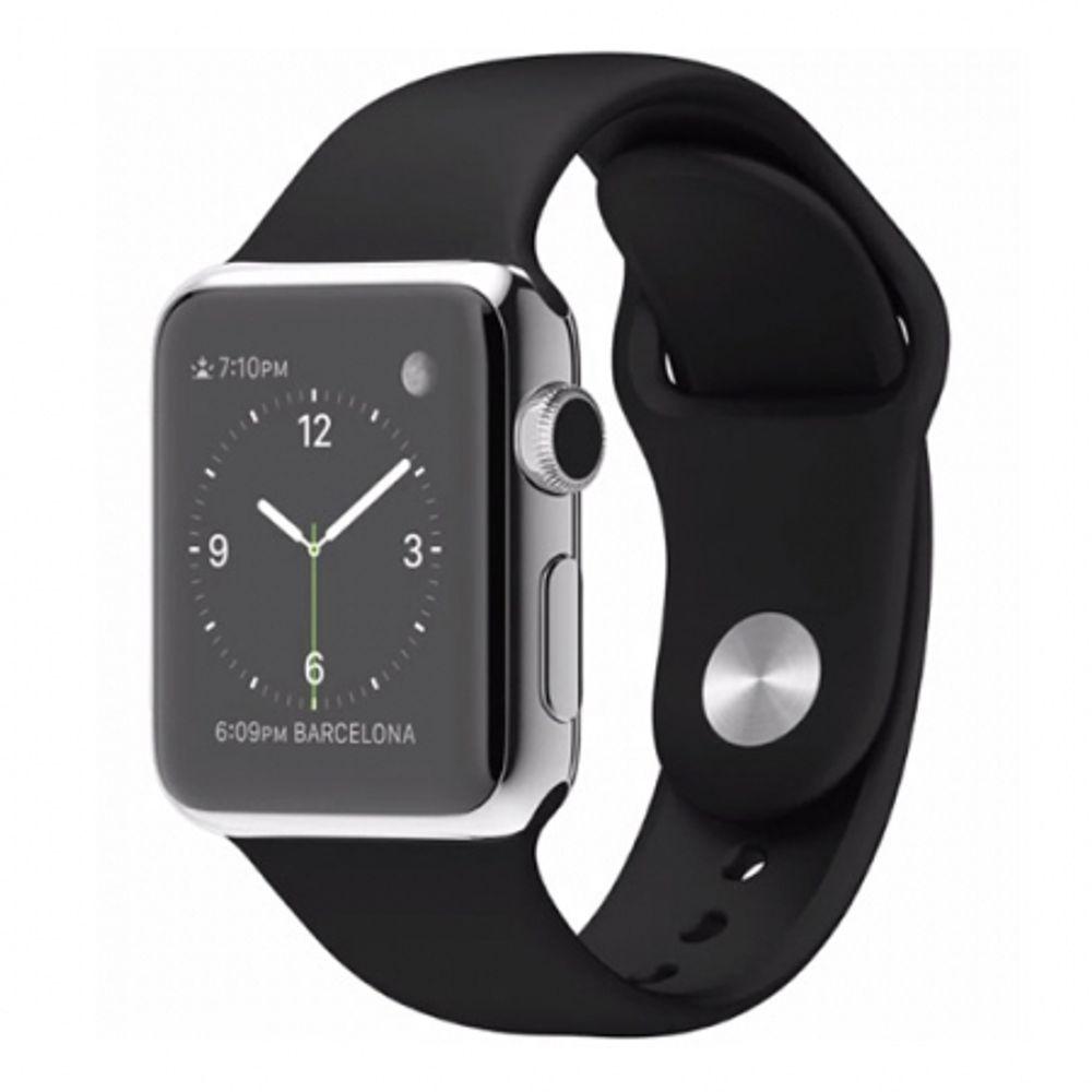 apple-watch-38mm-carcasa-otel-inoxidabil-si-curea-sport-neagra-42880-777