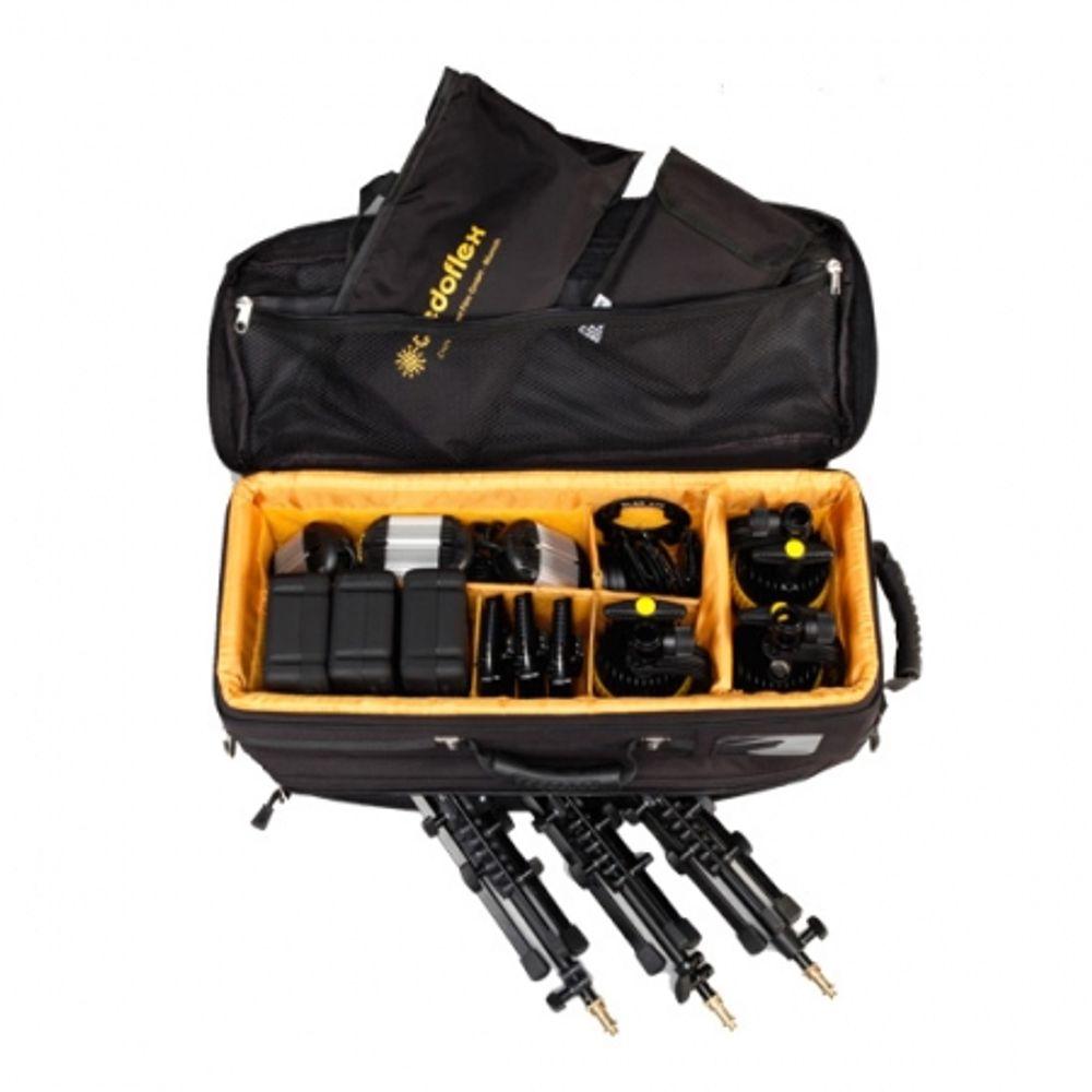 dedolight-spsled3-bat-kit-3-lumini-led-31061