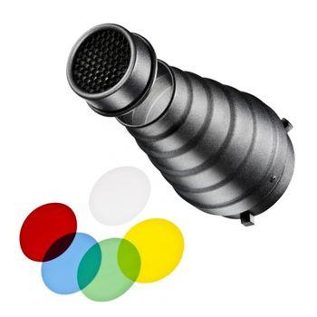 walimex-12964-snoot-cu-grid-si-filtre-colorate-montura-bowens-33003