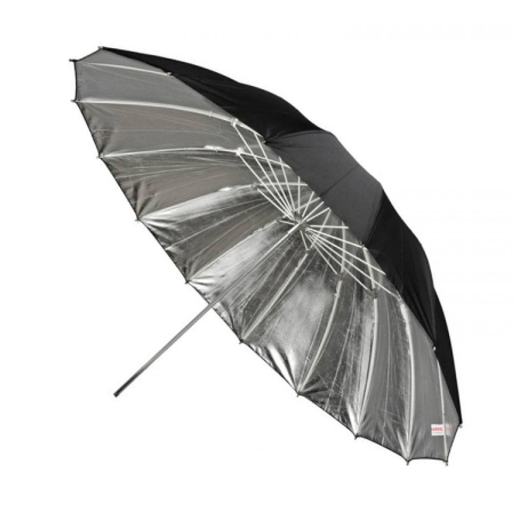 dynaphos-fibro-105-umbrela-reflexie-silver-105cm-37395