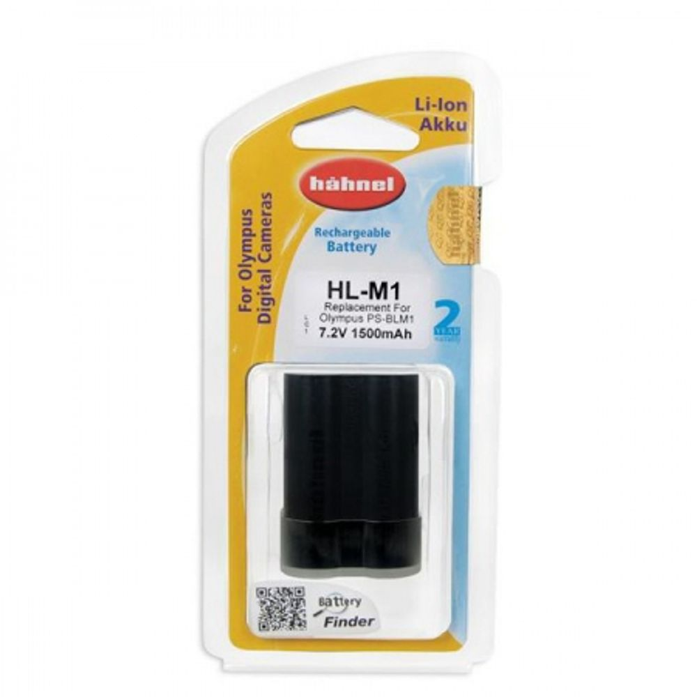hahnel-hl-m1-acumulator-replace-tip-olympus-ps-blm1-1500mah-52304-975