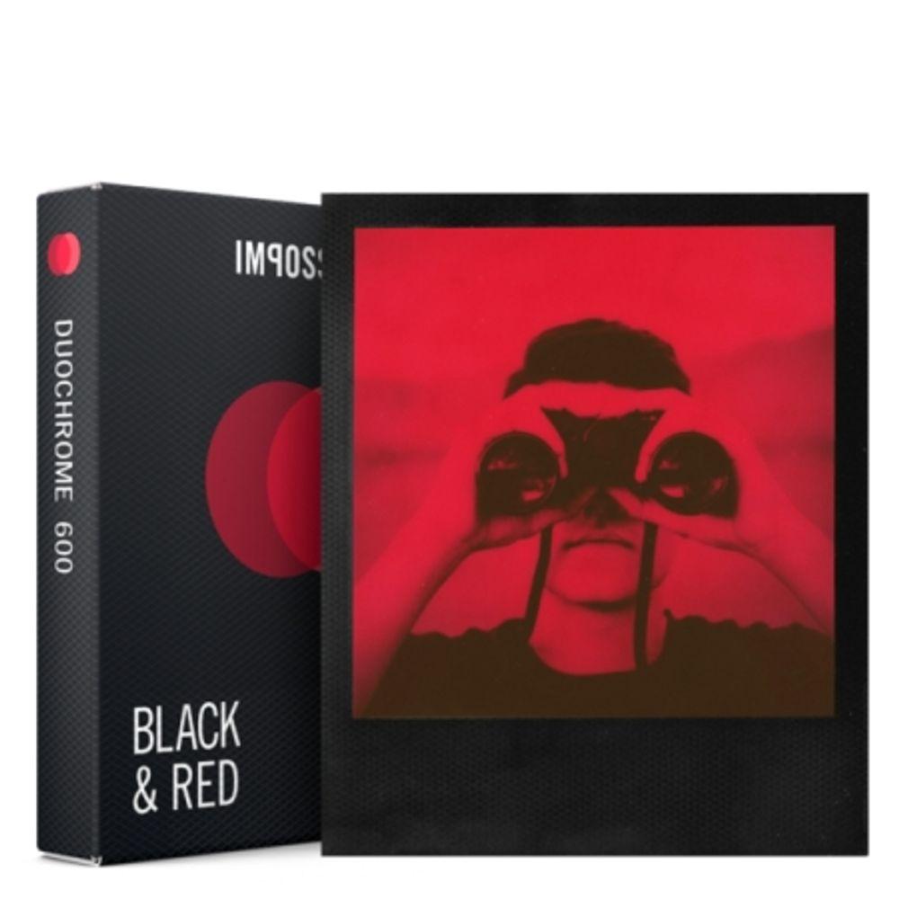 impossible-duochrome-film-instant-negru---rosu-pentru-polaroid-600-55592-725