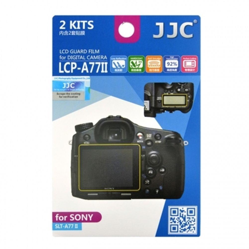 jjc-folie-protectie-lcd-pentru-sony-slt-a77-ii--slt-a77m2-56559-464