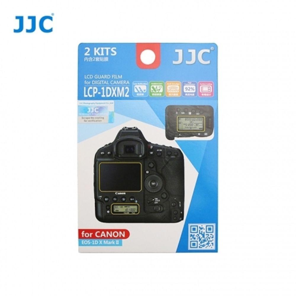 jjc-folie-protectie-lcd-pentru-canon-eos-1d-x-mark-ii--2-buc--56566-754