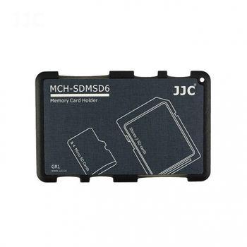 jjc-cutie-pentru-carduri-de-memorie-2-sd-4-micro-sd--gri-56593-463