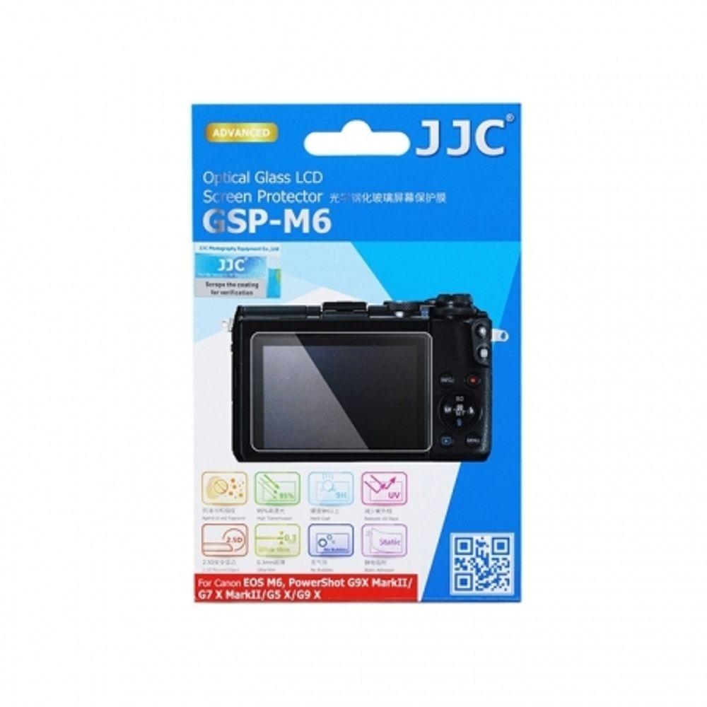 jjc-folie-protectie-ecran-2-5---din-sticla-optica-pentru-canon-eos-m6--powershot-g9-x-markii--g7-x-markii--g5-x--g9-x-63466-539