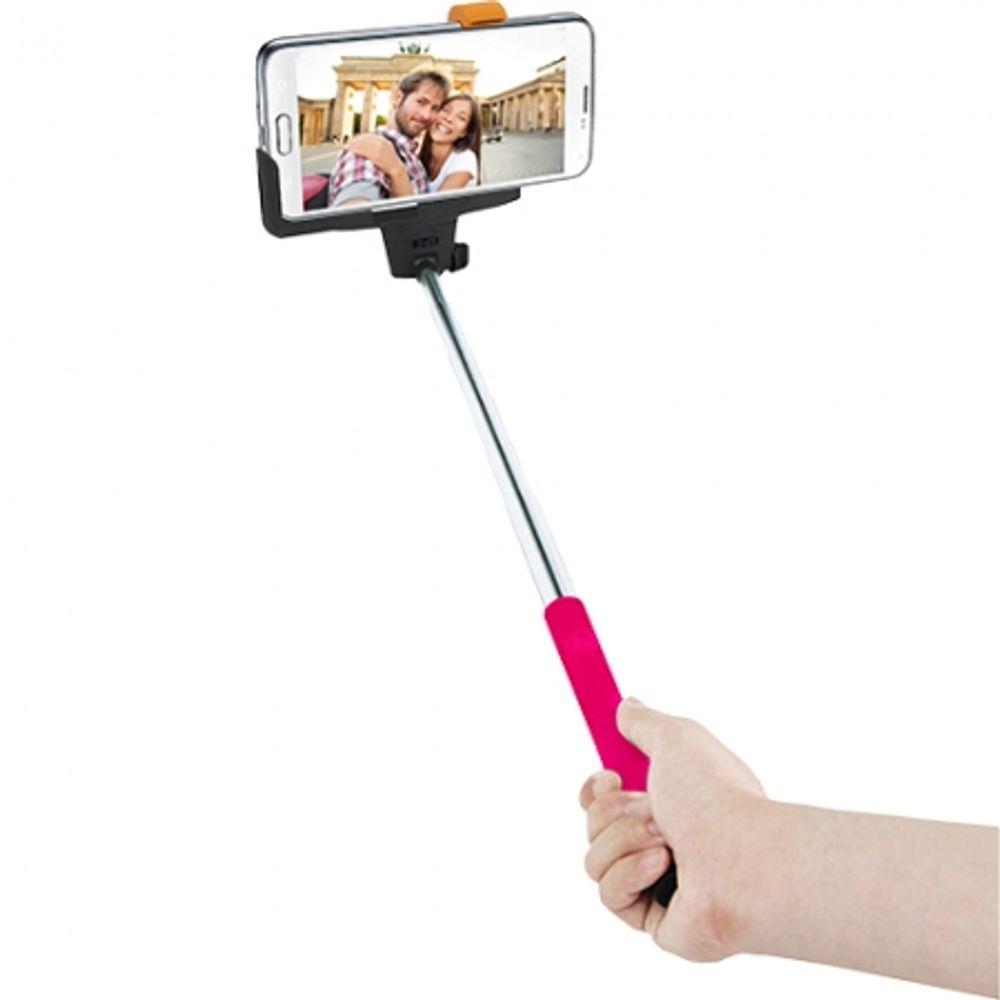 innovatec-selfie-stick-cu-telecomanda-incorporata-roz-43726-693