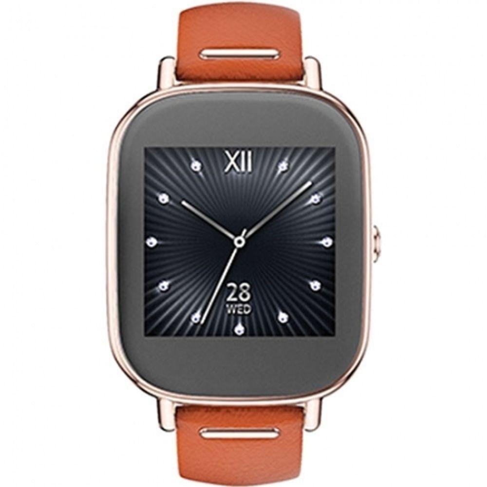 asus-smartwatch-zenwatch-2-curea-piele-portocalie-48243-703