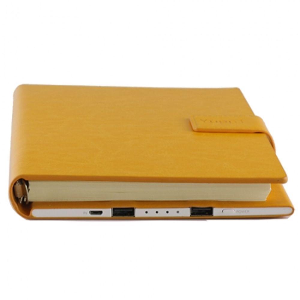 yuppi-love-tech-agenda-notite-baterie-externa-cu-doua-porturi-usb-9000mah--galben-55459-666