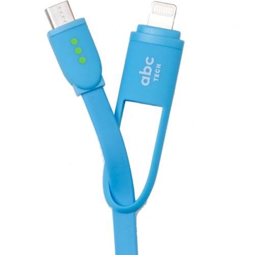 abc-tech-cablu-date--30cm--micro-usb-lightning--albastru-62040-275
