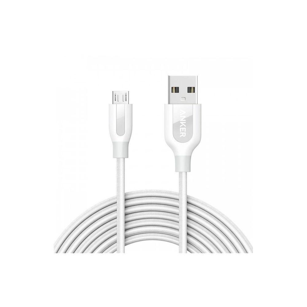 cablu-micro-usb-anker-powerline-nylon-3-m-alb-4822-4