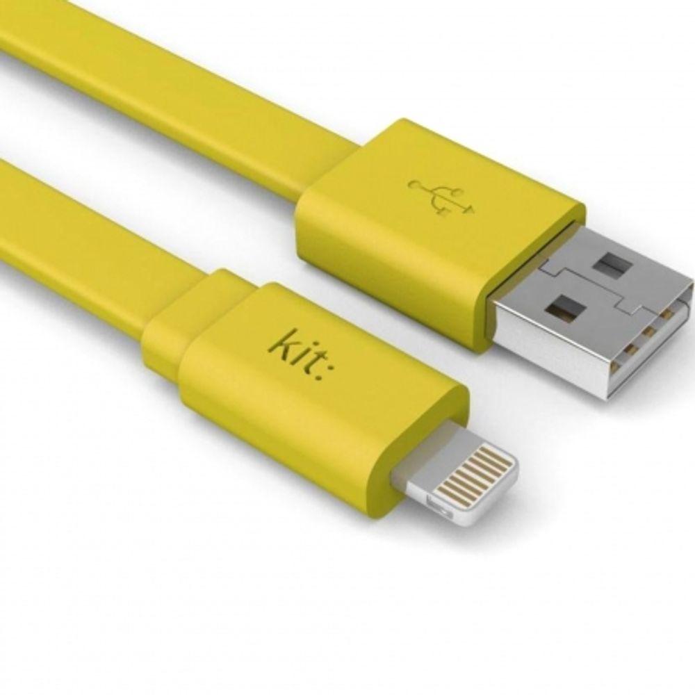 kit-fresh-cablu-date---incarcare--apple-lightning--mfi--suprafata-plata--led--1m--galben-66713-598