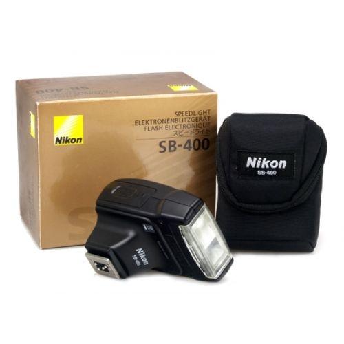 blitz-nikon-speedlight-sb400-incarcator-uniross-4-acumulatori-uniross-2500mah-6930