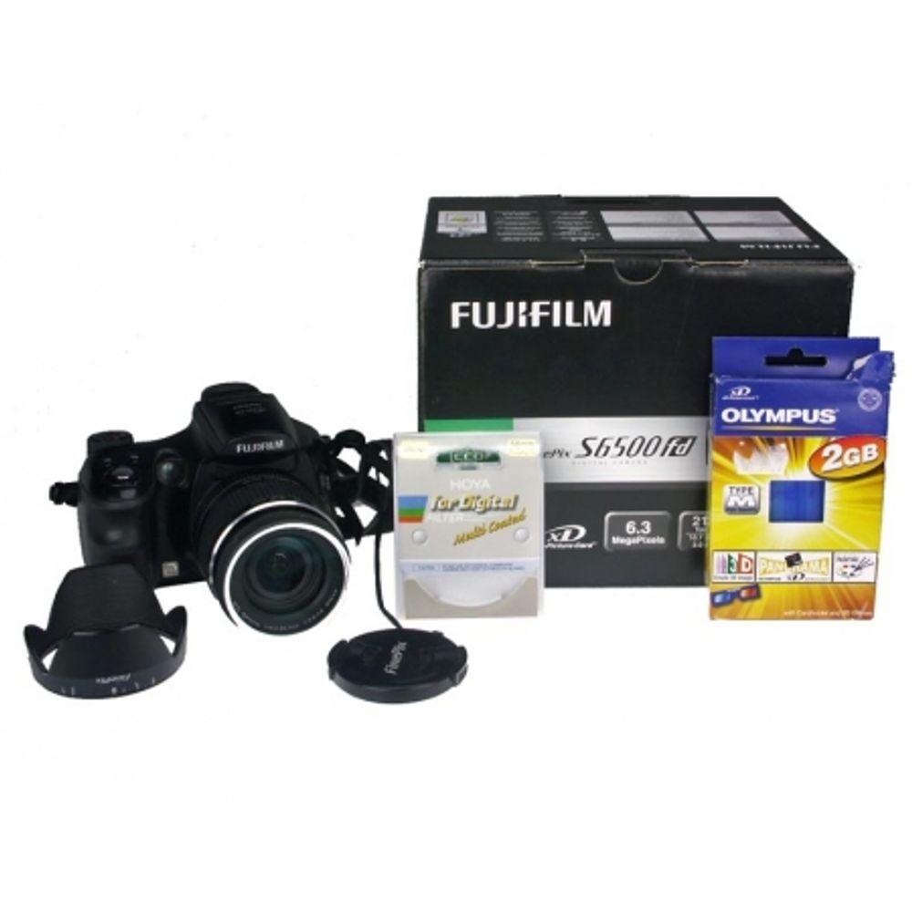 fujifilm-finepix-s6500-hoya-uv-n-hmc-58mm-xd-2gb-4-ac-powerex-2700mah-incarcator-maha-c204-8666