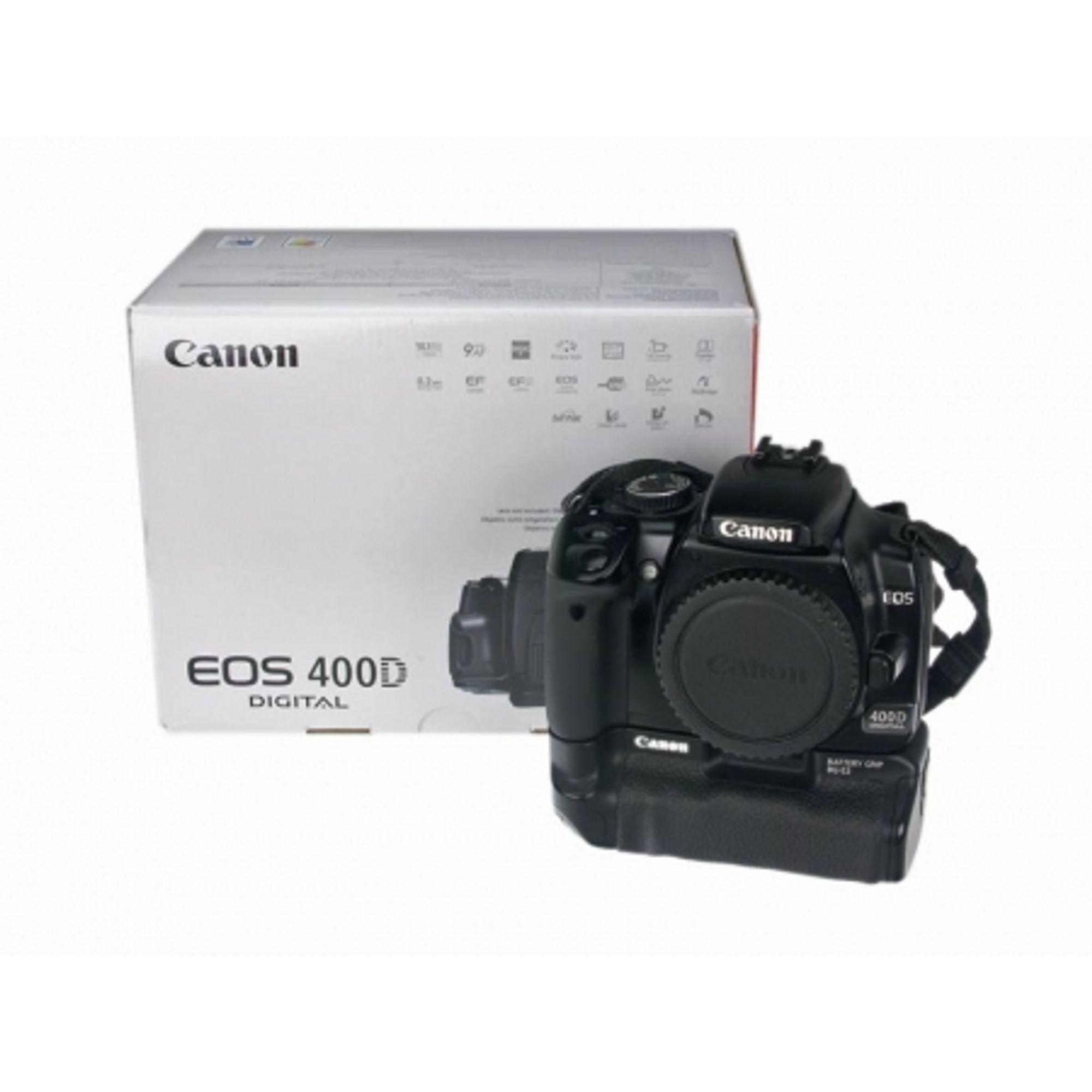 Canon EOS 400D (body) + grip Canon BG-E3 - F64 Studio
