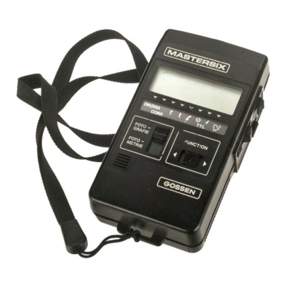 exponometru-flashmetru-gossen-mastersix-8740