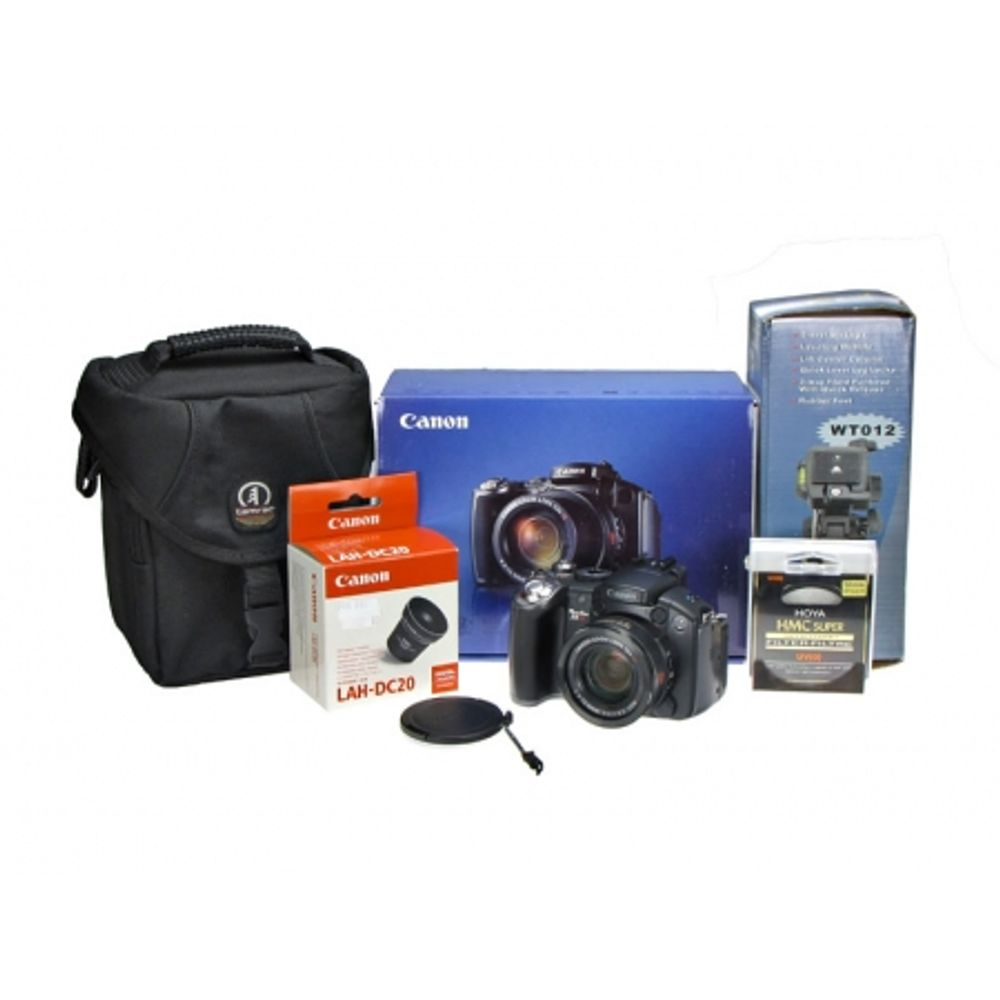 canon-powershot-s5is-adaptor-filtre-alh-dc20-filtru-hoya-uv-sd-2gb-kingston-tamrac-5230-minitrepied-wt012-8902