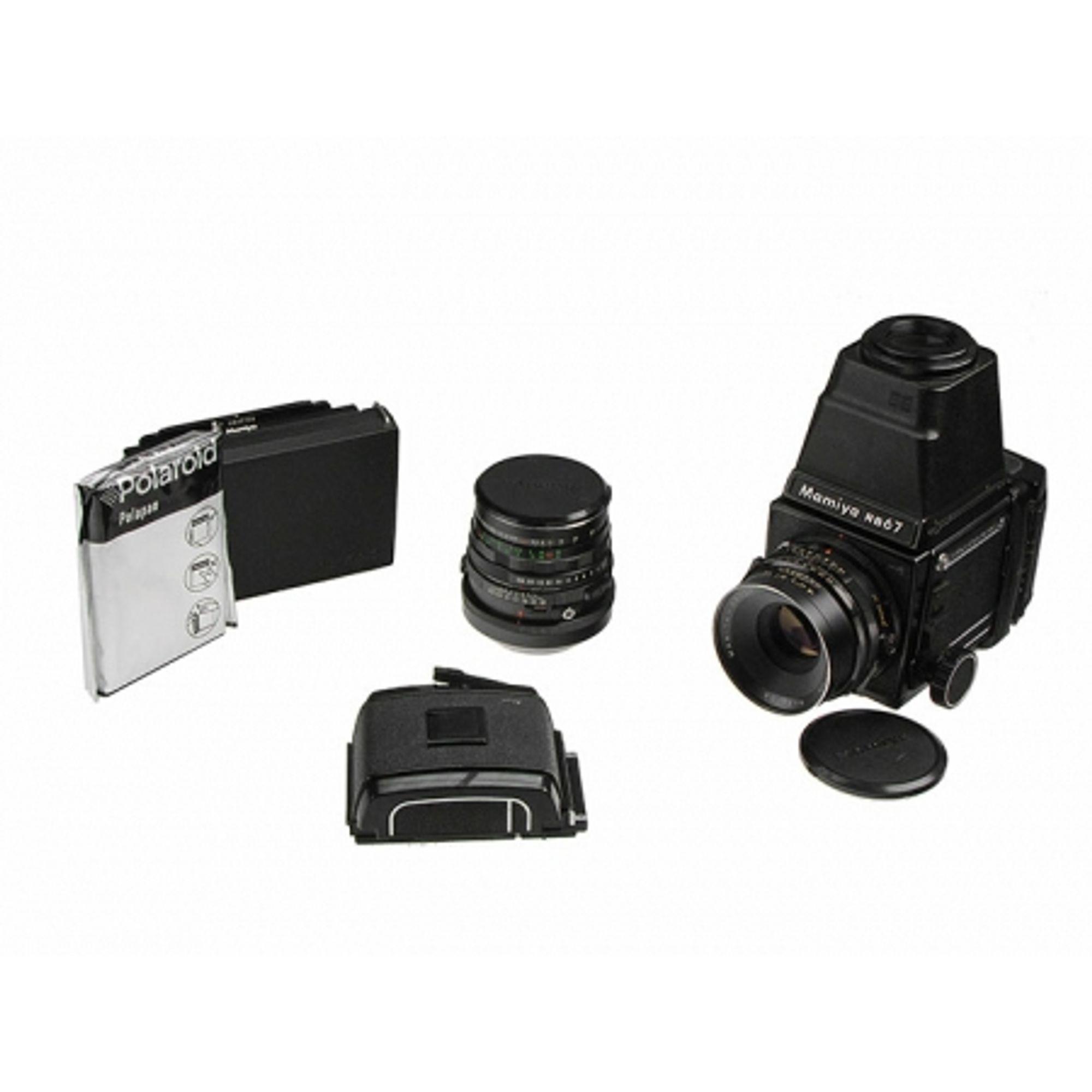 Mamiya RB67 kit - Obiectiv Mamiya - Sekor C 127mm/3 8