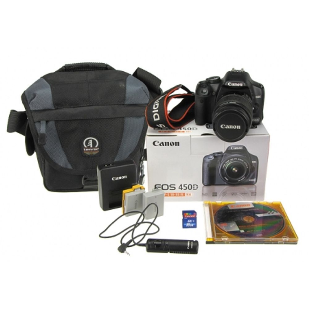 canon-eos-450d-kit-18-55mm-is-acumulator-rezerva-card-sd-16-gb-declansator-cablu-tamrac-5531-10333