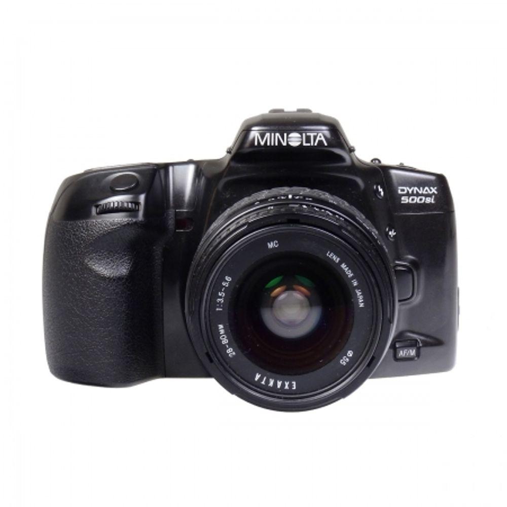 minolta-dynax-500si-28-80mm-f-3-5-5-6-exakta-70-210mm-f-4-5-6-blitz-metz-34-af-3-m-27015