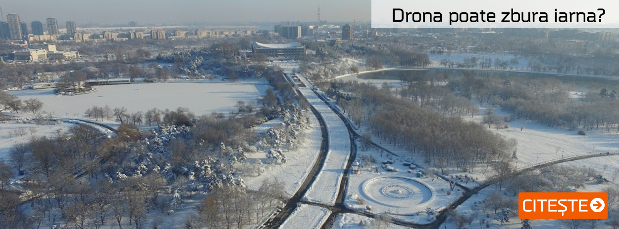 Drona poate zbura iarna?