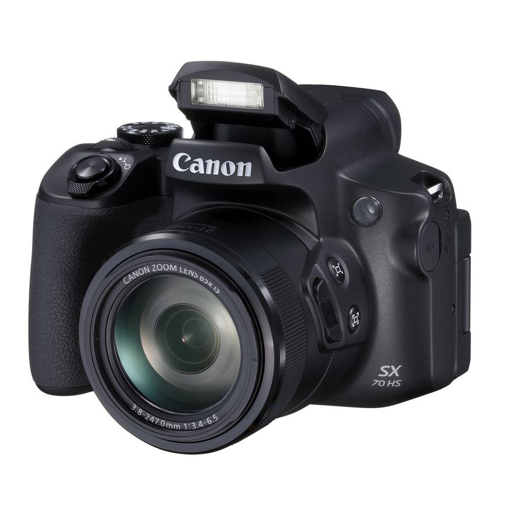 Canon-PowerShot-SX70-HS-Aparat-Foto-Birdge-Zoom-Optic-65x-4K-Wi-Fi