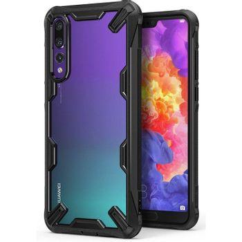 Ringke-Fusion-X-Husa-Telefon-pentru-Huawei-P20-Pro-Black