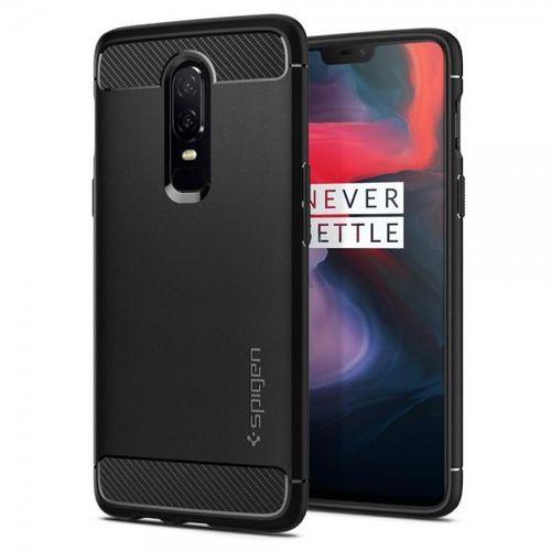 Spigen-Rugged-Armor-Husa-Telefon-Pentru-OnePlus-6-Negru