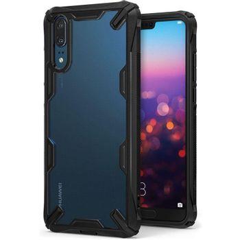 Ringke-Fusion-X-Husa-Telefon-pentru-Huawei-P20-Black