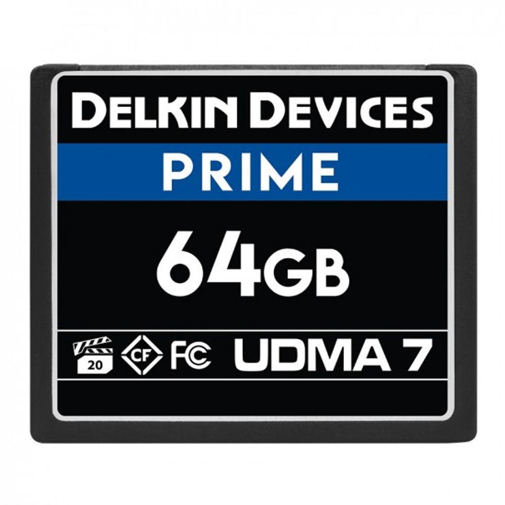 Delkin-Prime-Card-de-Memorie-CF-64GB