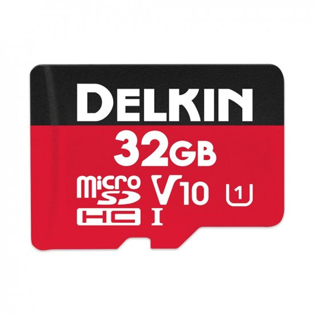 Delkin-Select-32GB-Card-de-Memorie-MicroSDHC-UHS-I-660X-V10