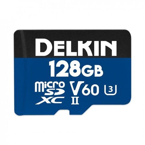 Delkin-Prime-128GB-Card-de-memorie-MicroSDXC-UHS-II-2000X-V60