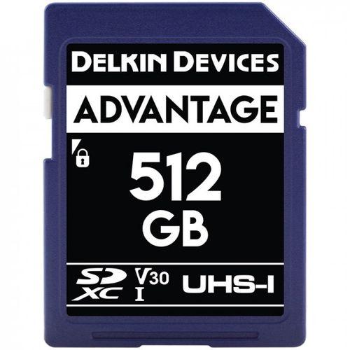 Delkin-Advantage-512GB-Card-de-Memorie-SDXC-UHS-I-660X-V30