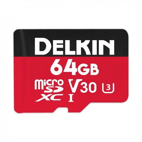 Delkin-Select-64GB-Card-de-Memorie-MicroSDXC-UHS-I-660X-V30