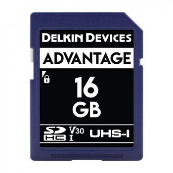 Delkin-Advantage-Card-de-Memorie-SDHC-16GB-UHS-I-660X-V30