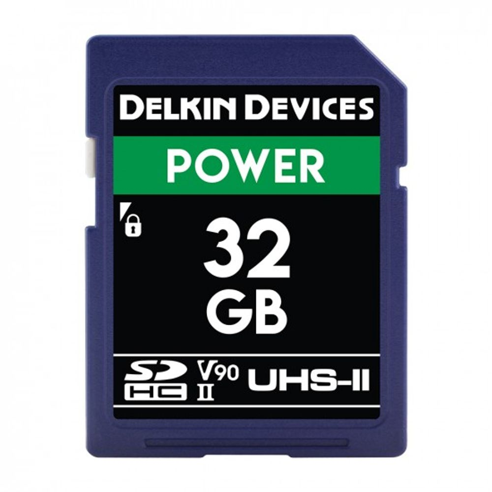 Delkin-Power-Card-de-Memorie-SDHC-32GB-UHS-II-2000X-V90