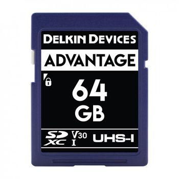 Delkin-Advantage-Card-de-Memorie-SDXC-64GB-UHS-I-660X-V30