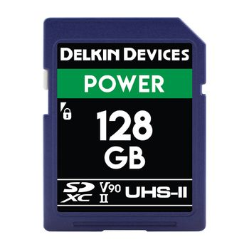 Delkin-Power-Card-de-Memorie-SDXC-128GB-UHS-II-2000X-V90