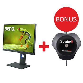 Benq-SW240-LCD-M4P-IPS-Photo-Professional--24.1W-1610-1920x1200-Bonus-calibrator-Spyder-Elite
