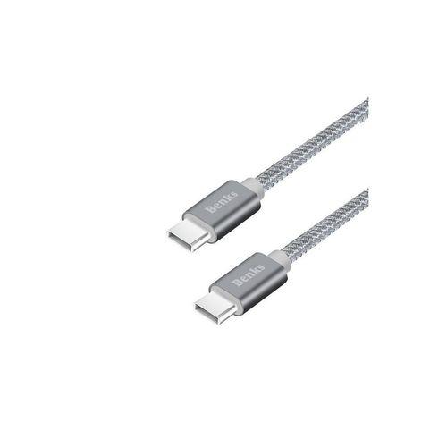 Benks-Cablu-USB-C-USB-C-Gri-1m