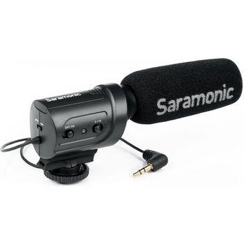 Saramonic-SR-M3-Microfon-Directional-de-Camera-cu-Jack-3.5mm