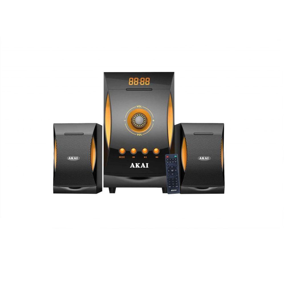Akai-SS032A-3515-Sistem-Audio-2.1-Bluetooth-Negru