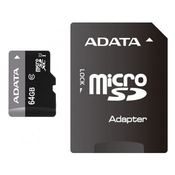 ADATA-Premier-MicroSDXC-64GB-UHS-I-cu-Adaptor-SD