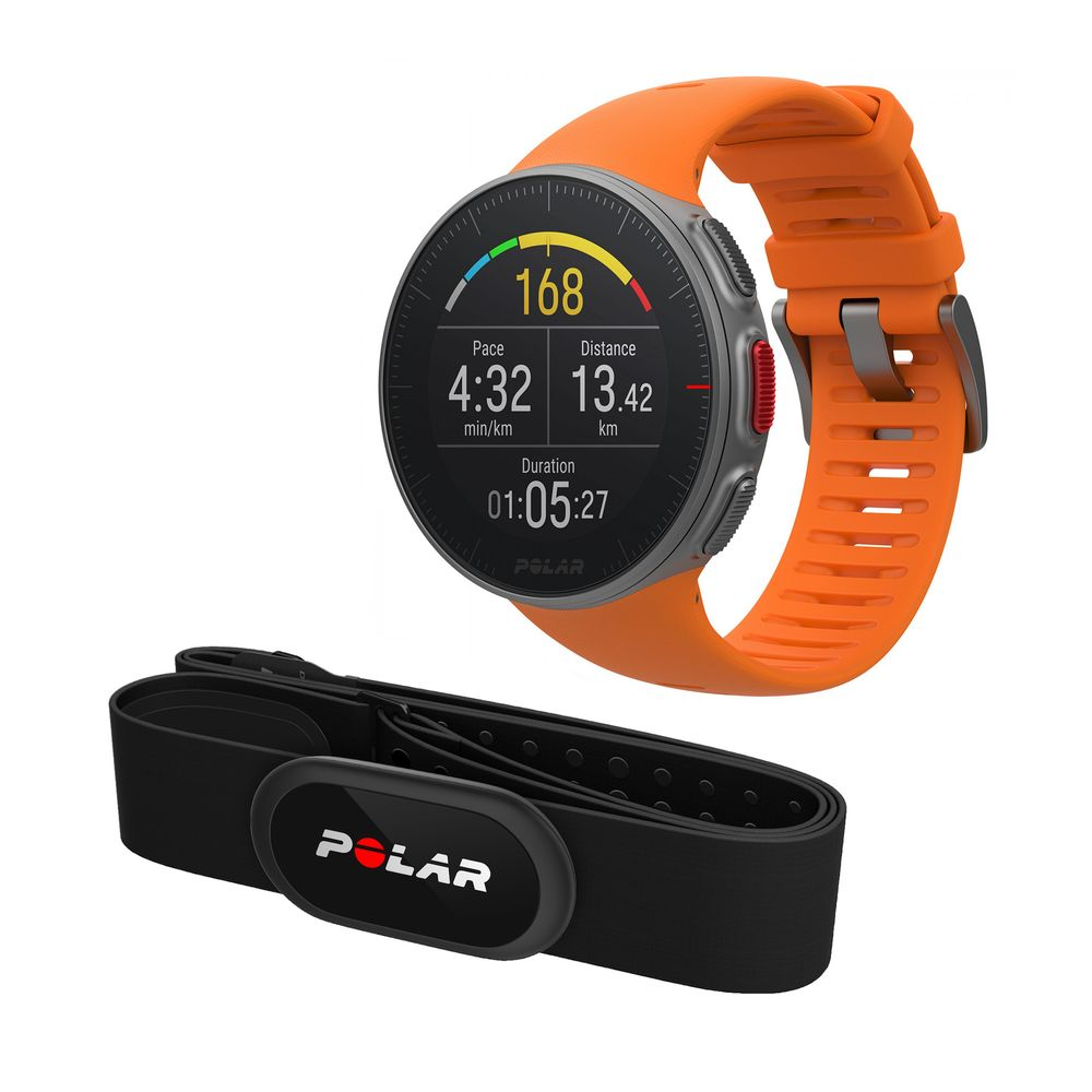 Polar-Vantage-V-HR-Smartwatch-GPS-46mm-BT-3B-Orange-cu-Centura-H10