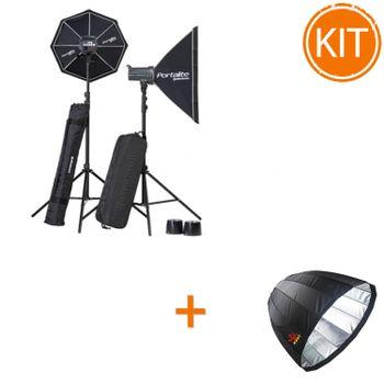 Kit-blituri-Elinchrom-D-Lite-RX-Softbox-To-GoParabolic-Softbox-150cm