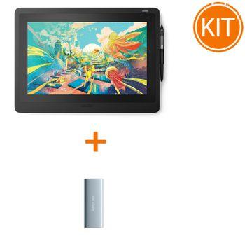 Wacom-Display-Interactiv-Cintiq-16-Bonus-Hikvision-T100I-SSD-extern-240GBUSB-3